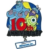 Disney Monsters Inc. Pin - 10th Anniversary
