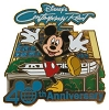 Disney 40th Anniversary Pin - Resorts - Disney's Contemporary Resort