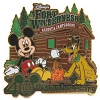 Disney 40th Anniversary Pin - Resorts - Fort Wilderness Resort