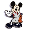 Disney Mystery Pins - Mickey Professions - Baseball Player