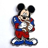 Disney Mystery Pins - Mickey Professions - Football Player