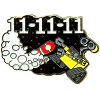Disney Wall-E Pin - 11-11-11