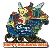 Disney Happy Holidays Pin - 2011 Old Key West Resort
