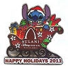 Disney Happy Holidays Pin - 2011 Aulani Resort & Spa