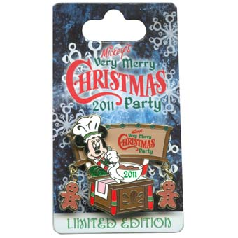 Disney Very Merry Christmas Party Pin - 2011 Minnie Baking