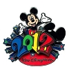 Disney Annual Pin - 2012 Logo - Mickey Mouse