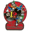 Disney Annual Pin - 2012 Logo  - Mickey and Friends - Spinner