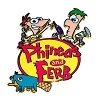 Disney Phineas and Ferb Pin - Logo with Perry the Platypus