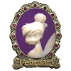 Disney Tinker Bell Birthstone Collection Pin - February - Cameo
