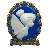 Disney Tinker Bell Birthstone Collection Pin - September - Cameo