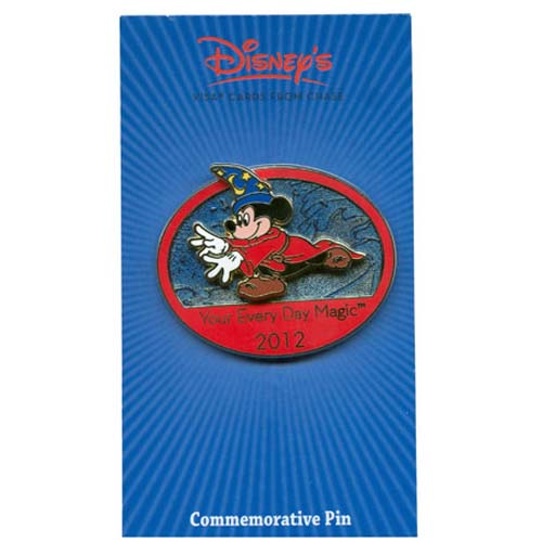Disney Visa Pin - 2012 - Your Every Day Magic - Sorcerer Mickey Mouse