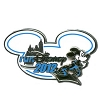 Disney Marathon Pin - Run Disney 2012 Logo - Mickey Mouse