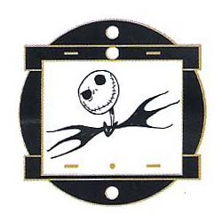 Disney Mystery Pin - Animation Art - Jack Skellington
