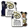 Disney Mickey Pin - Worldwide Conservation Fund - Mickey Mouse & Terk