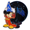 Disney Valiant and Villainous Pin - Sorcerer Mickey and Yensid