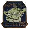 Disney Star Wars Pin - 2012 May the 4th be with you - Yoda
