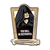 Disney Star Wars Weekend Pin - 2012 Darth Sidious Sculpted Lightsaber