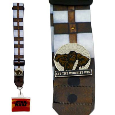 Disney Pin Lanyard - Star Wars Weekends 2012 Chewbacca Bandolier