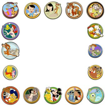 Disney Mystery Pin - Best Friends - Choice
