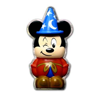 Disney Vinylmation Pin 3d Sorcerer Mickey Mouse