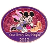 Disney Visa Pin - 2012 - Your Every Day Magic - Mickey and Minnie