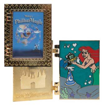 Disney Attraction Posters Pin - Mickey's Philharmagic