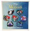 Disney Princess Pin Set - Little Mermaid - 7 Pins