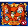 Disney Mickey's Circus Boxed Pin Set - Circus Clowns