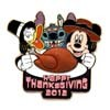 Disney Thanksgiving Pin - 2012 Thanksgiving Turkey Dinner