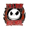 Disney Jack Skellington Pin - Jack Skellington I'm A Real Nightmare