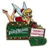 Disney Season Greetings Pin - 2012 Port Orleans Resort