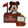 Disney Season Greetings Pin - 2012 Fort Wilderness Campground
