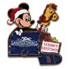 Disney Season Greetings Pin - 2012 Saratoga Springs Resort