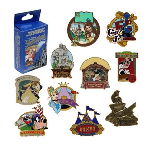 Disney Mystery Pin Set