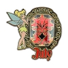 Disney Tinker Bell Birthstone Collection Pin - July - 2013