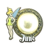 Disney Tinker Bell Birthstone Collection Pin - June - 2013