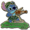 Disney St. Patrick's Day Pin - 2013 - Stitch