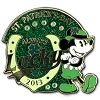 Disney St. Patrick's Day Pin - 2013 - Pie - Eye Mickey