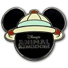 Disney Mickey Icon Pin - Animal Kingdom Safari Hat