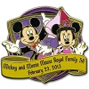 Disney Marathon Pin - 2013 Disney's Princess Royal Family 5K