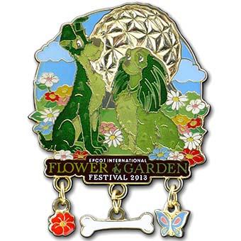Your WDW Store - Disney Flower & Garden Festival Pin - 2013 Lady &