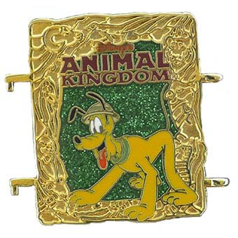 Disney Passholder Pin - 2013 Puzzle Set - Pluto Animal Kingdom