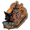 Disney 2013 Retro Art Pin - Believe in Magic - Sorcerer Mickey