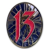 Disney 13 Event Countdown Collection Pin - Captain Hook