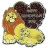 Disney Father's Day Pin - 204H3 Simba and Mufasa