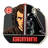 Disney Mystery Pin - Star Wars Zodiac - Anakin Darth - Gemini
