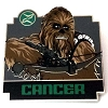 Disney Mystery Pin - Star Wars Zodiac - Chewbacca - Cancer