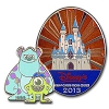 Disney Visa Pin - 2013 - Mike & Sulley Monsters University