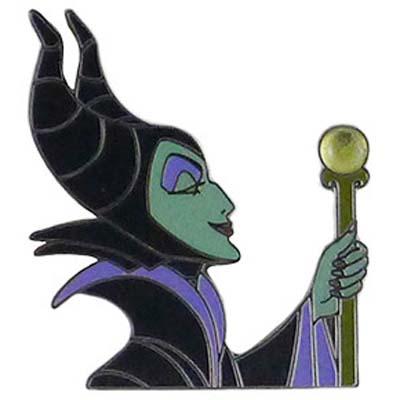 Disney Maleficent Pin Maleficent Stone Scepter