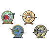 Disney Pixar Pin Set - Disney-Pixar Planes Booster Set